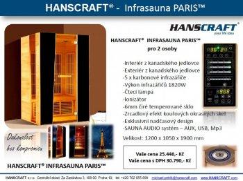 Infrasauna HANSCRAFT PARIS