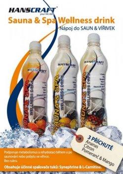 SAUNA & SPA wellness drink HANSCRAFT - pomeranč