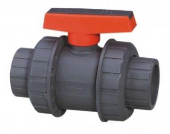 Ventil - průměr 50 mm - kulový dvojcestný Extra