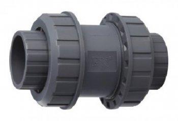 Ventil - průměr 63 mm - kuželový zpětný