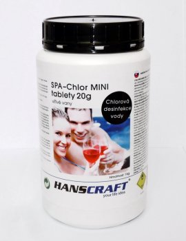 HANSCRAFT SPA - Chlor MINI tablety 20g - 1 kg