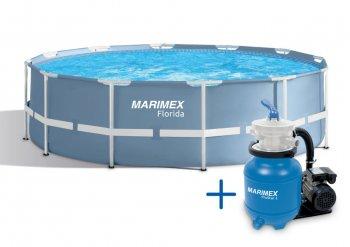 Bazén Florida 4,57 x 1,22 + PF ProStar 3 SET