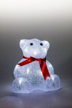 Medveď svietiaci LED dekorace