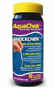 AquaChek testovací proužky - celkový a volný chlór