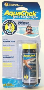 AquaChek testovací proužky - 3v1 peroxid...