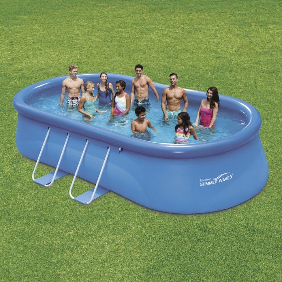 Bazén Tampa ovál 5,49x3,05x1,07 m bez příslušenství