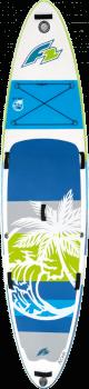 Paddleboard F2 Aloha 10'5''x33''x6'' GREEN